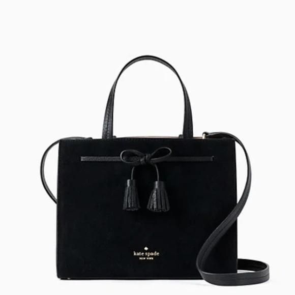 kate spade Handbags - NWT Kate Spade New York Hayes Suede Small Satchel